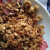 Mulberry, Pecan, and Dark Chocolate Granola