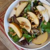Green Salad with Asian Pears and Preserved Lemon Vinaigrette