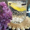 Lilac Infused Spanish Gin and Tonic