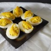 Deviled Eggs with Preserved Lemon and Dukkah